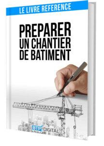 Préparer un Chantier de Bâtiment - Couverture du livre construction et génie-civil